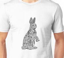 Rabbit_Pink Unisex T-Shirt
