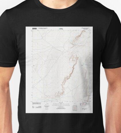 USGS TOPO Map Arizona AZ Windy Valley 20111125 TM Unisex T-Shirt