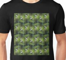 Great Blue Heron in flight, Trojan pond, Goble, Oregon 3 pattern Unisex T-Shirt