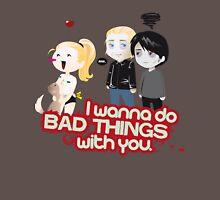 Bad Things Mens V-Neck T-Shirt