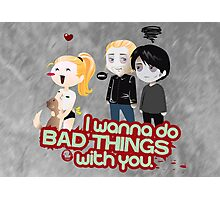 Bad Things Photographic Print