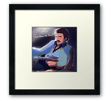 Thrill Her Framed Print