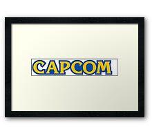 Capcom Classic video games Framed Print