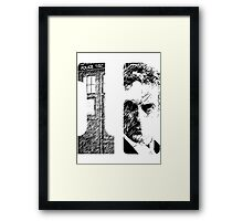 There is only one TWELVE Framed Print