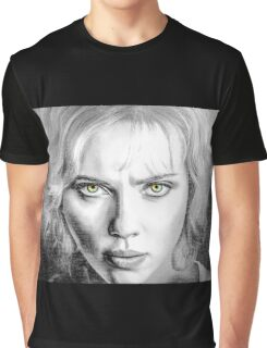 Lucy Movie Graphic T-Shirt