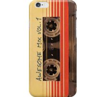 Awesome Mix Vol. 1 - Guardians of the Galaxy iPhone Case/Skin