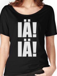 IÄ! IÄ! Cthulhu fhtagn! (H.P. Lovecraft) Women's Relaxed Fit T-Shirt