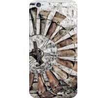 Stone Cottage and Windmill iPhone Case/Skin