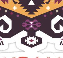 Ethnic print vector pattern background Sticker