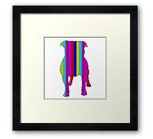 Bull Terrier Range Framed Print