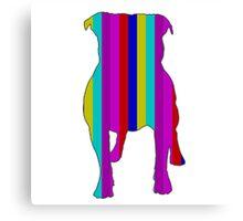 Bull Terrier Range Canvas Print