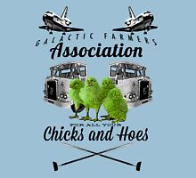 Chicks and Hoes Unisex T-Shirt