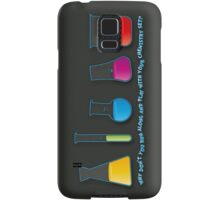 Play with your chemistry set Samsung Galaxy Case/Skin