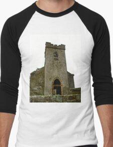 St. Columbe's Church, Clonmany, Donegal, Ireland Men's Baseball ¾ T-Shirt
