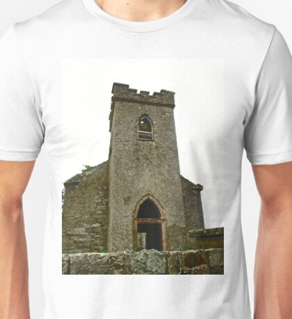 St. Columbe's Church, Clonmany, Donegal, Ireland Unisex T-Shirt