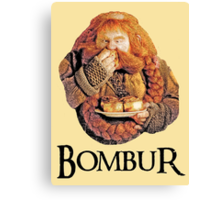 Bombur Portrait Canvas Print