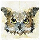 abstract owl by Ancello