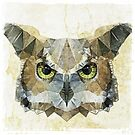 abstract owl by Ancello