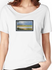 *THE TAMAR RIVER STORM* Women's Relaxed Fit T-Shirt