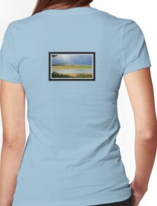 *THE TAMAR RIVER STORM* Womens Fitted T-Shirt