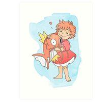 Fishy Friends Art Print