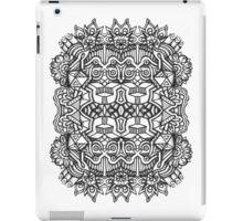 SYMMETRY - Design 002 (B/W) V2 iPad Case/Skin