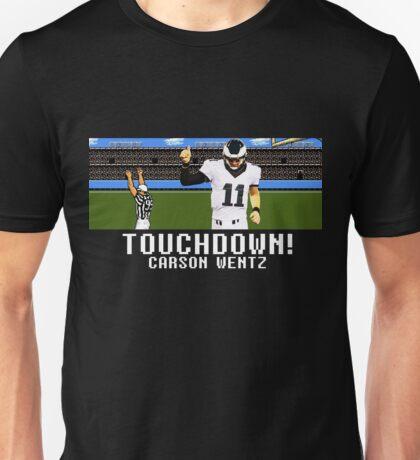 Tecmo Bowl Carson Wentz Unisex T-Shirt