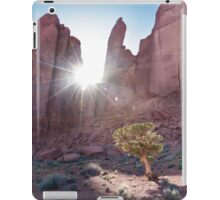 Monument Valley, Tree Catching Sun iPad Case/Skin