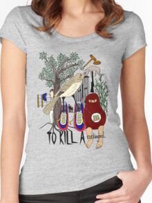 To Kill a Mockingbird (colour) Women's Fitted Scoop T-Shirt