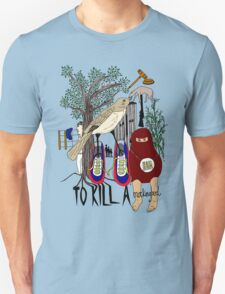 To Kill a Mockingbird (colour) Unisex T-Shirt