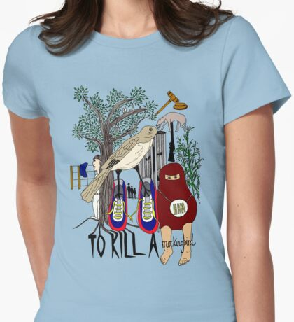 To Kill a Mockingbird (colour) Womens Fitted T-Shirt
