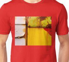 Abstract View Of A Truck Door Unisex T-Shirt