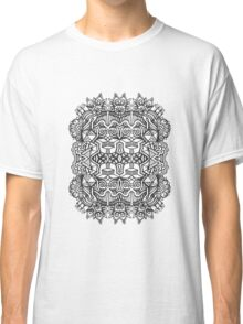 SYMMETRY - Design 002 (B/W) V2 Classic T-Shirt