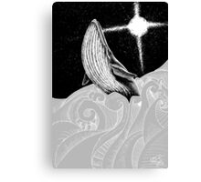 The Holy Whale Canvas Print