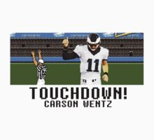 Tecmo Bowl Carson Wentz One Piece - Short Sleeve