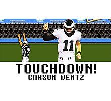 Tecmo Bowl Carson Wentz Photographic Print