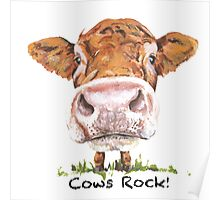 Cows Rock! Poster