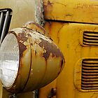 A White Headlight by Larry Costales