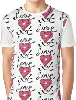 Love It Heart Graphic T-Shirt
