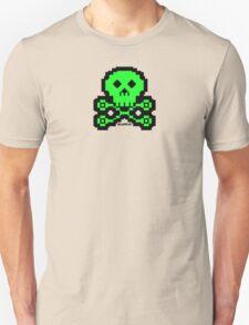 carb0nbase pixel skull T-Shirt