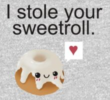 I stole your sweetroll. Kids Tee