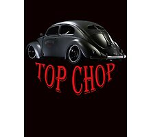 Limited Black Edition: Top Chop Beetle  Photographic Print