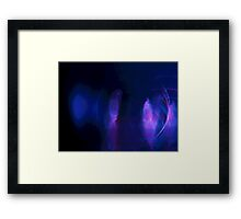 Quick Glimpse of Aliens Framed Print