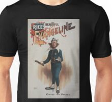 Performing Arts Posters Rices beautiful Evangeline 0779 Unisex T-Shirt