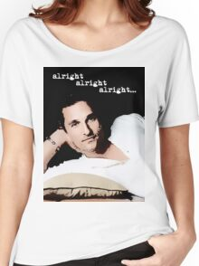 Alright Alright Alright - color Women's Relaxed Fit T-Shirt