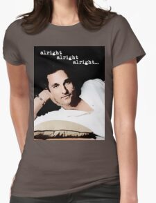 Alright Alright Alright - color Womens Fitted T-Shirt