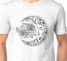 Sleeping Moon Unisex T-Shirt