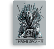Throne of Games - You Win Or You Die Metal Print