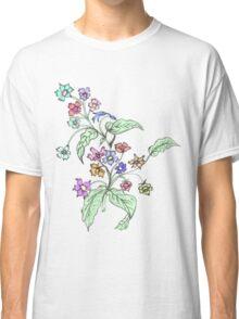 Doodle Bouquet Classic T-Shirt
