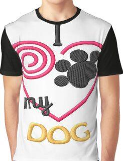 I Heart my Dog Version 2 Graphic T-Shirt